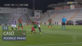 Marítimo M., Caso, Rodrigo Pinho aos 75'
