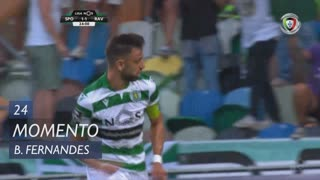 Sporting CP, Jogada, Bruno Fernandes aos 24'