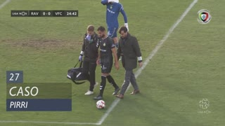 Vitória FC, Caso, Pirri aos 27'
