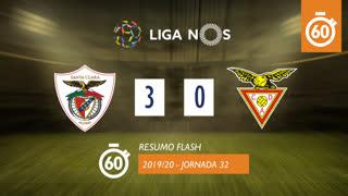 Liga NOS (32ªJ): Resumo Flash Santa Clara 3-0 CD Aves