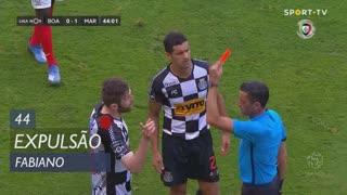 Boavista FC, Expulsão, Fabiano aos 44'