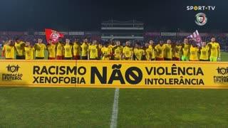 CD Aves x Vitória SC: #racismoNÃO