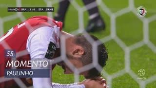 SC Braga, Jogada, Paulinho aos 55'