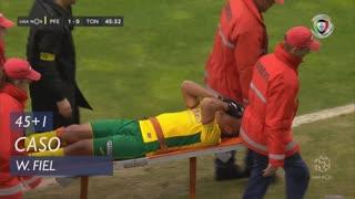 FC P.Ferreira, Caso, W. Fiel aos 45'+1'