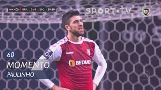 SC Braga, Jogada, Paulinho aos 60'