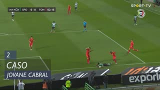 Sporting CP, Caso, Jovane Cabral aos 2'
