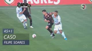 Moreirense FC, Caso, Filipe Soares aos 45'+1'