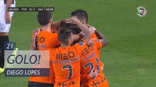 GOLO! Rio Ave FC, Diego Lopes aos 21', Portimonense 0-1 Rio Ave FC
