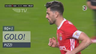 GOLO! SL Benfica, Pizzi aos 90'+1', SL Benfica 1-1 Moreirense FC