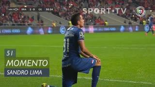Gil Vicente FC, Jogada, Sandro Lima aos 51'