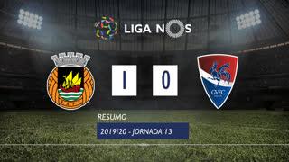 Liga NOS (13ªJ): Resumo Rio Ave FC 1-0 Gil Vicente FC