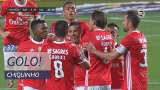 GOLO! SL Benfica, Chiquinho aos 37', SL Benfica 1-0 Vitória SC