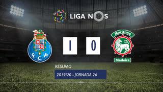 Liga NOS (26ªJ): Resumo FC Porto 1-0 Marítimo M.