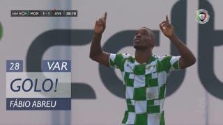 GOLO! Moreirense FC, Fábio Abreu aos 28', Moreirense FC 1-1 CD Aves