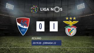 Liga NOS (22ªJ): Resumo Gil Vicente FC 0-1 SL Benfica