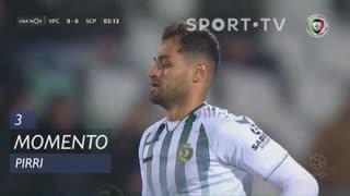 Vitória FC, Jogada, Pirri aos 3'