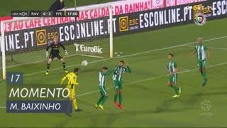 FC P.Ferreira, Jogada, Marco Baixinho aos 17'