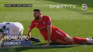 Gil Vicente FC, Jogada, Lourency aos 28'