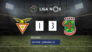 Liga NOS (23ªJ): Resumo CD Aves 1-3 FC P.Ferreira