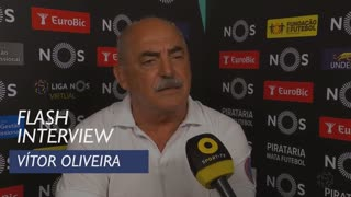 Liga (1ª): Flash Interview Vítor Oliveira