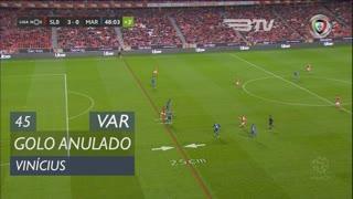 SL Benfica, Golo Anulado, Vinícius aos 45'