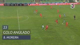 Rio Ave FC, Golo Anulado, Bruno Moreira aos 23'