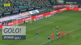 GOLO! Sporting CP, Sporar aos 31', Sporting CP 2-0 CD Tondela