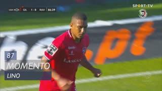 Gil Vicente FC, Jogada, Lino aos 87'