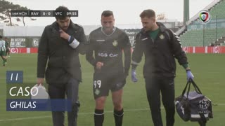 Vitória FC, Caso, Ghilas aos 11'