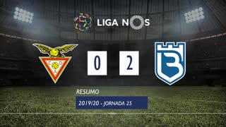 Liga NOS (25ªJ): Resumo CD Aves 0-2 Belenenses SAD