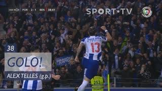 GOLO! FC Porto, Alex Telles aos 38', FC Porto 2-1 SL Benfica