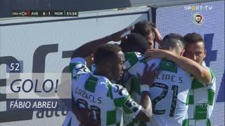 GOLO! Moreirense FC, Fábio Abreu aos 52', CD Aves 0-1 Moreirense FC
