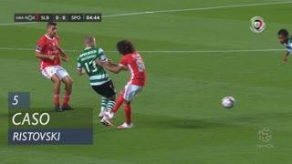 Sporting CP, Caso, Ristovski aos 5'
