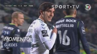 Vitória FC, Jogada, Guedes aos 74'