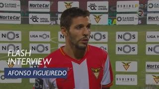 Afonso Figueiredo enalteceu a coragem da equipa do CD Aves