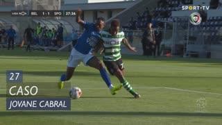 Sporting CP, Caso, Jovane Cabral aos 27'