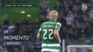Sporting CP, Jogada, J. Mathieu aos 49'