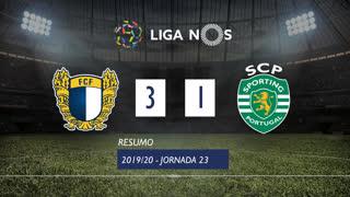 Liga NOS (23ªJ): Resumo FC Famalicão 3-1 Sporting CP