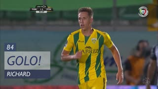 GOLO! CD Tondela, Richard aos 84