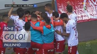 GOLO! SC Braga, Paulinho aos 90'+8', Marítimo M. 1-2 SC Braga