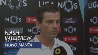 Liga (1ª): Flash Interview Nuno Manta Santos