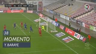 Gil Vicente FC, Jogada, Y. Baraye aos 38'