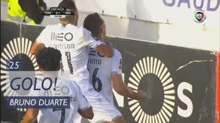 GOLO! Vitória SC, Bruno Duarte aos 25', CD Tondela 0-2 Vitória SC