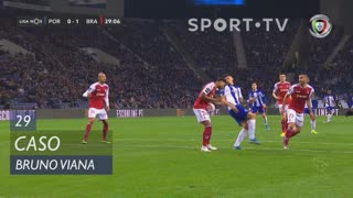 SC Braga, Caso, Bruno Viana aos 29'