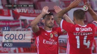 GOLO! SL Benfica, Pizzi aos 31', SL Benfica 2-0 Boavista FC