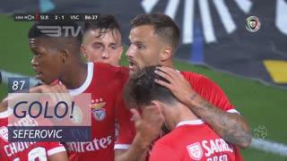 GOLO! SL Benfica, Seferovic aos 87', SL Benfica 2-0 Vitória SC
