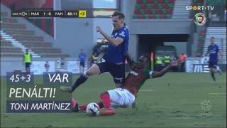 FC Famalicão, Penálti, Toni Martínez aos 45'+3'