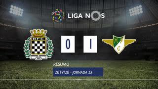 Liga NOS (25ªJ): Resumo Boavista FC 0-1 Moreirense FC