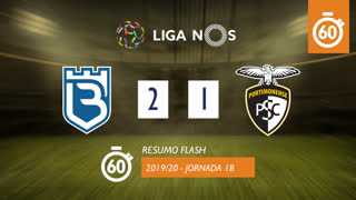 I Liga (18ªJ): Resumo Flash Belenenses SAD 2-1 Portimonense