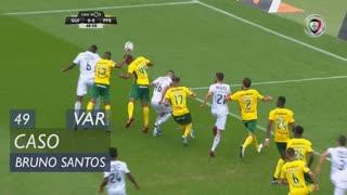 FC P.Ferreira, Caso, Bruno Santos aos 49'